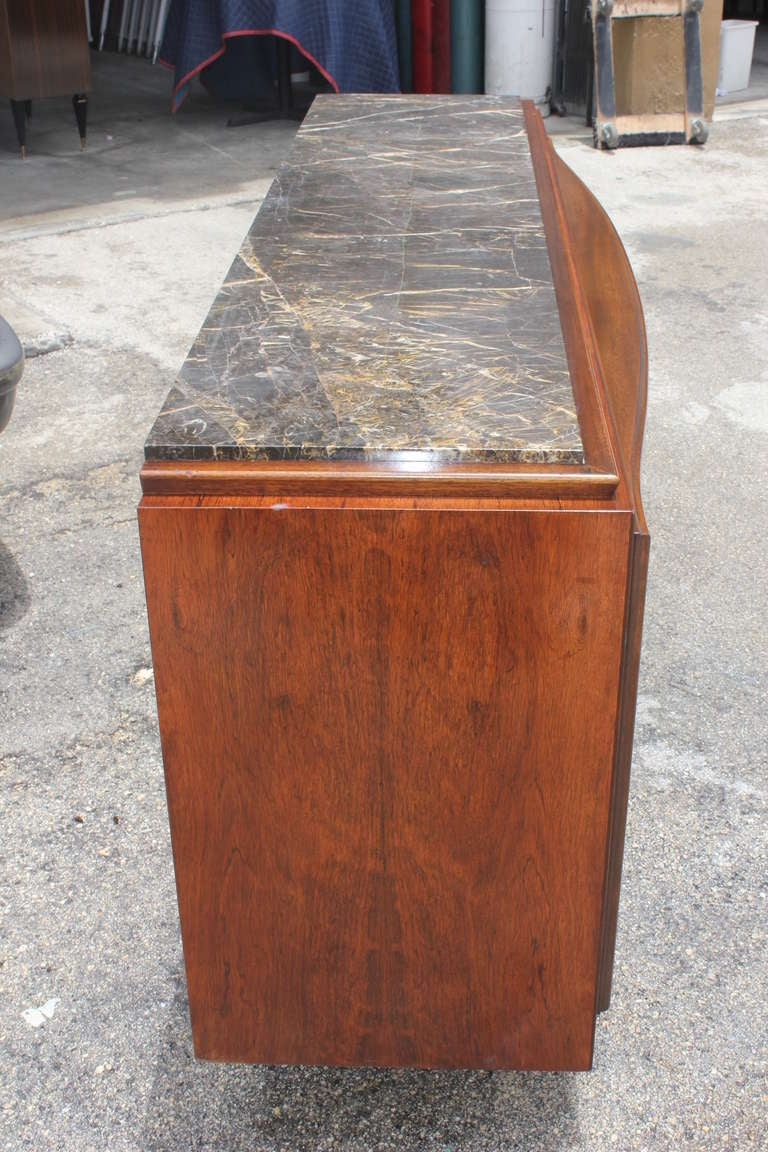 French Art Deco Palisander Buffet By Challeyssin At 1stdibs