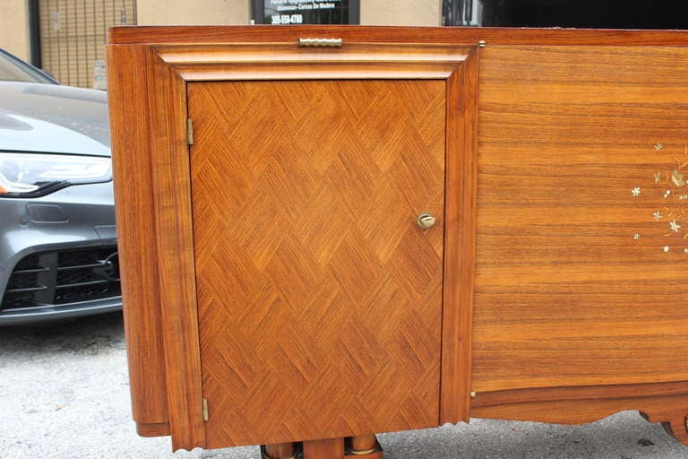 French Art Deco Palisander M O P Buffet At 1stdibs