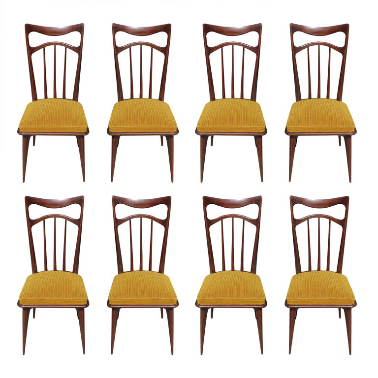 set 8 french art deco solid mahogany dining chairs 1 art deco dining furniture