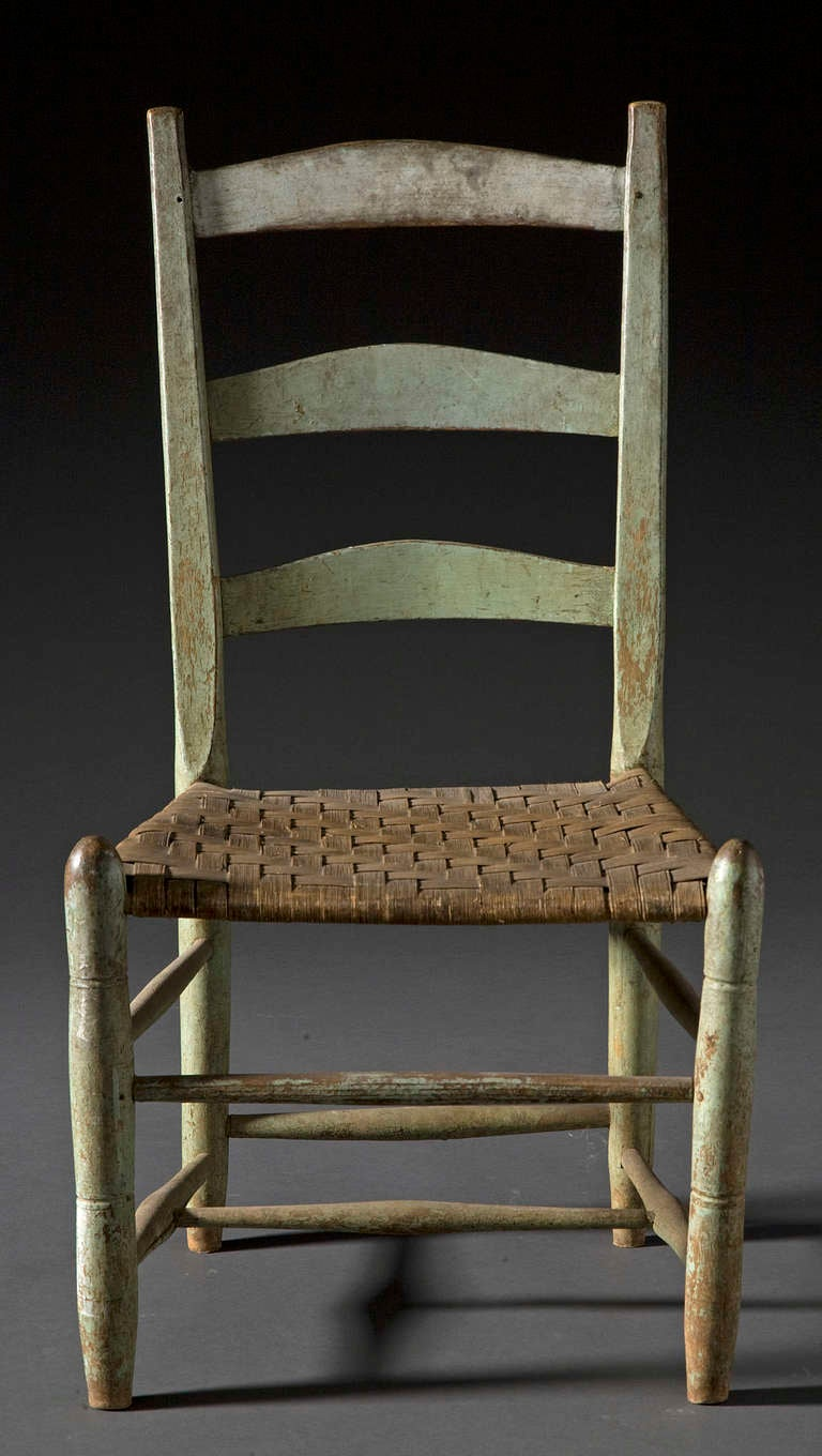 Early American Farm Chair at 1stdibs