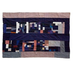 Bars and Strips Double-Sided Graphic Quilt