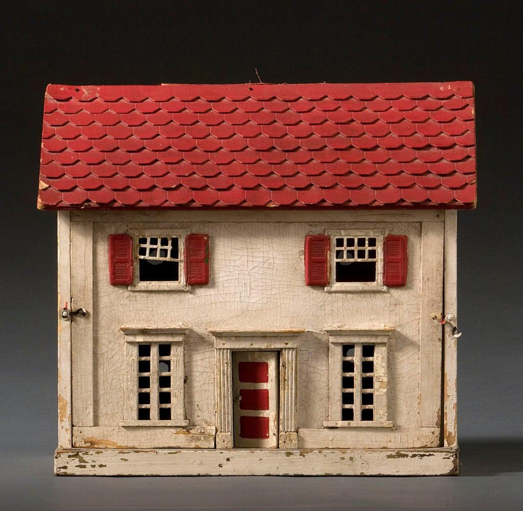 Vintage Dolls House Vintage Doll House Image 2