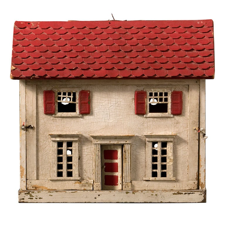 Toys For House : Vintage doll house at stdibs