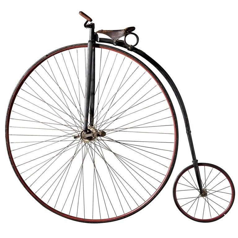 American High Wheeler Bicycle At 1stdibs
