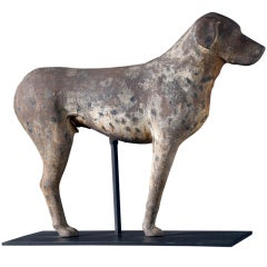 Cast Iron Standing Dog