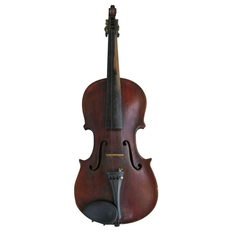 Antique Figured Maple Violin Unlabeled At 1stdibs