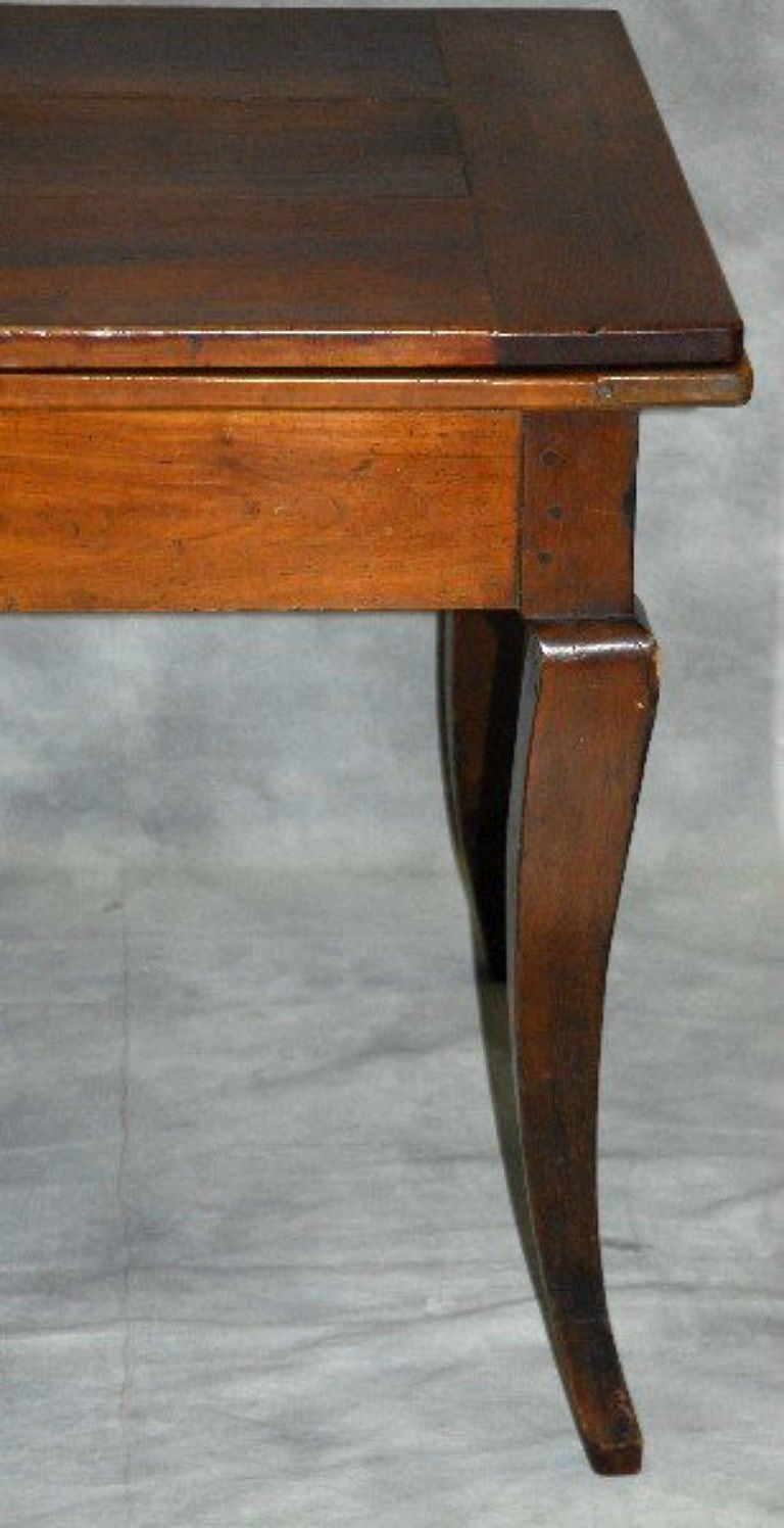19th Century Country French Farm House Extension Table at 1stdibs