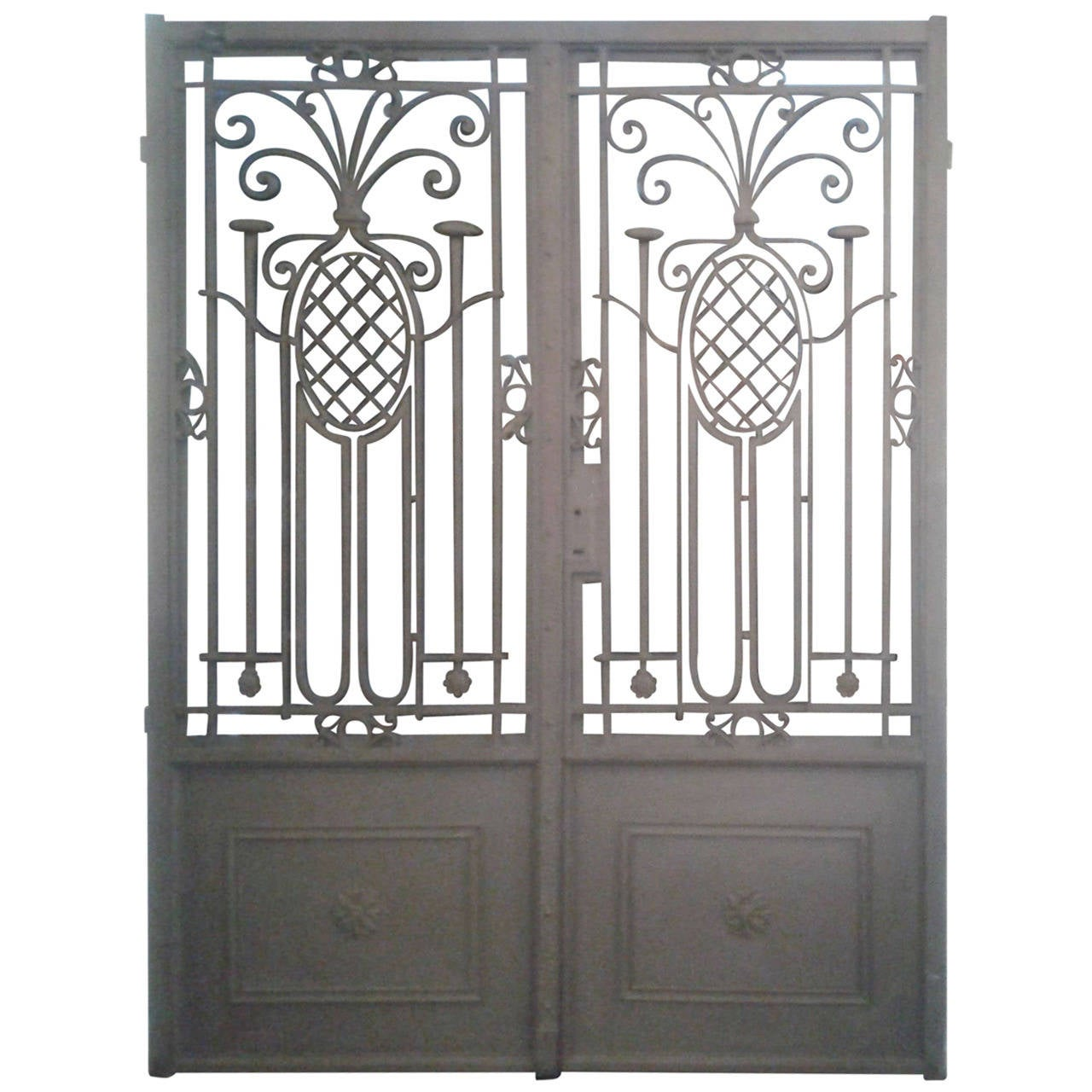 Contemporary Iron Gate Design For Home Images - Home Decorating ...