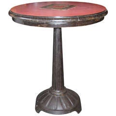 Authentic French Art Deco Bistro Table