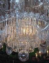 English Regency Style 15-Light Crystal Chandelier image 3