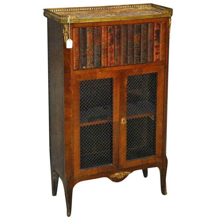 19th century louis xv book front cabinet at 1stdibs for Sideboard lindholm
