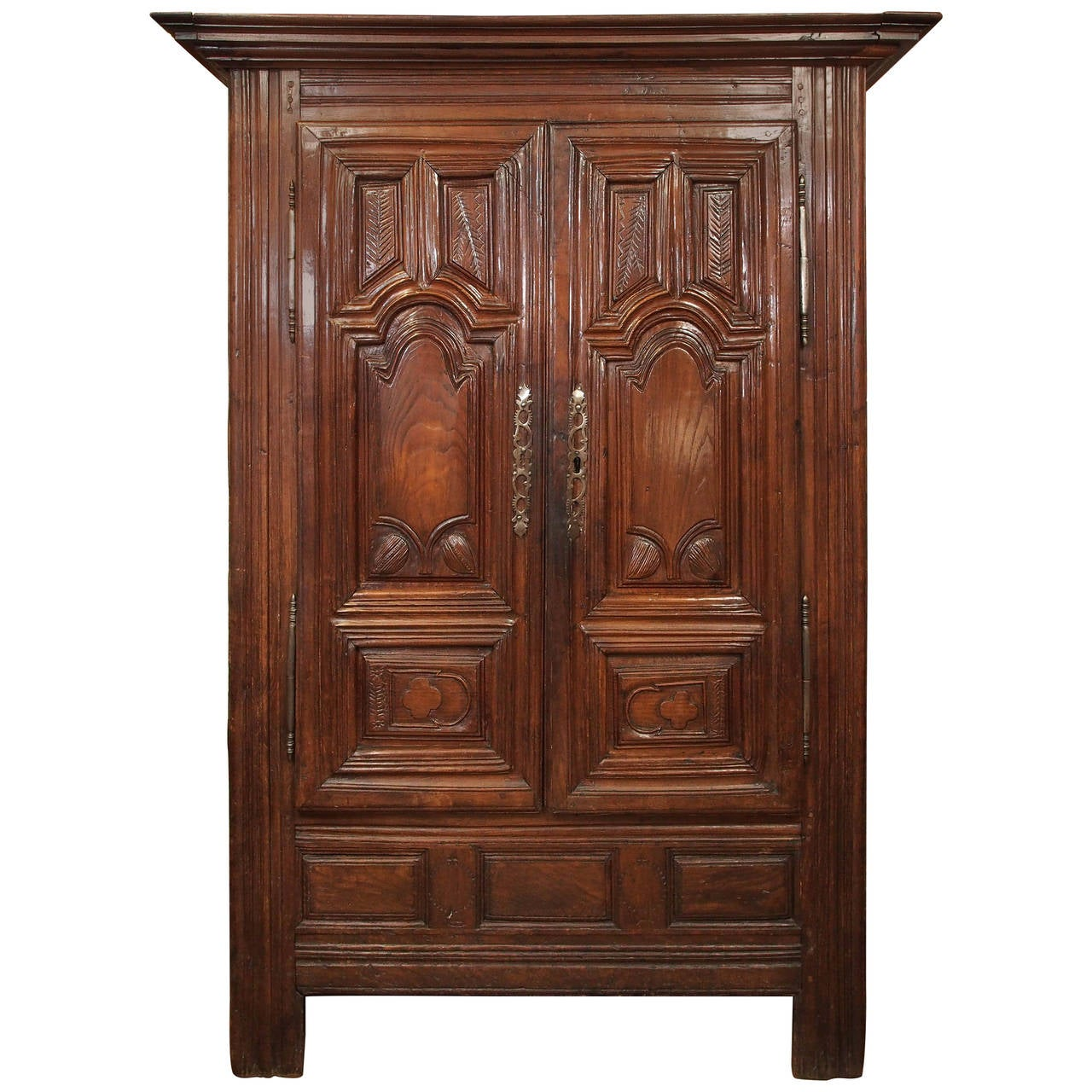 french louis xvi armoire at 1stdibs. Black Bedroom Furniture Sets. Home Design Ideas