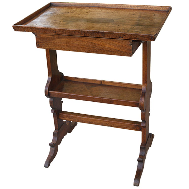 18th c french walnut knitting table at 1stdibs for Table knitting