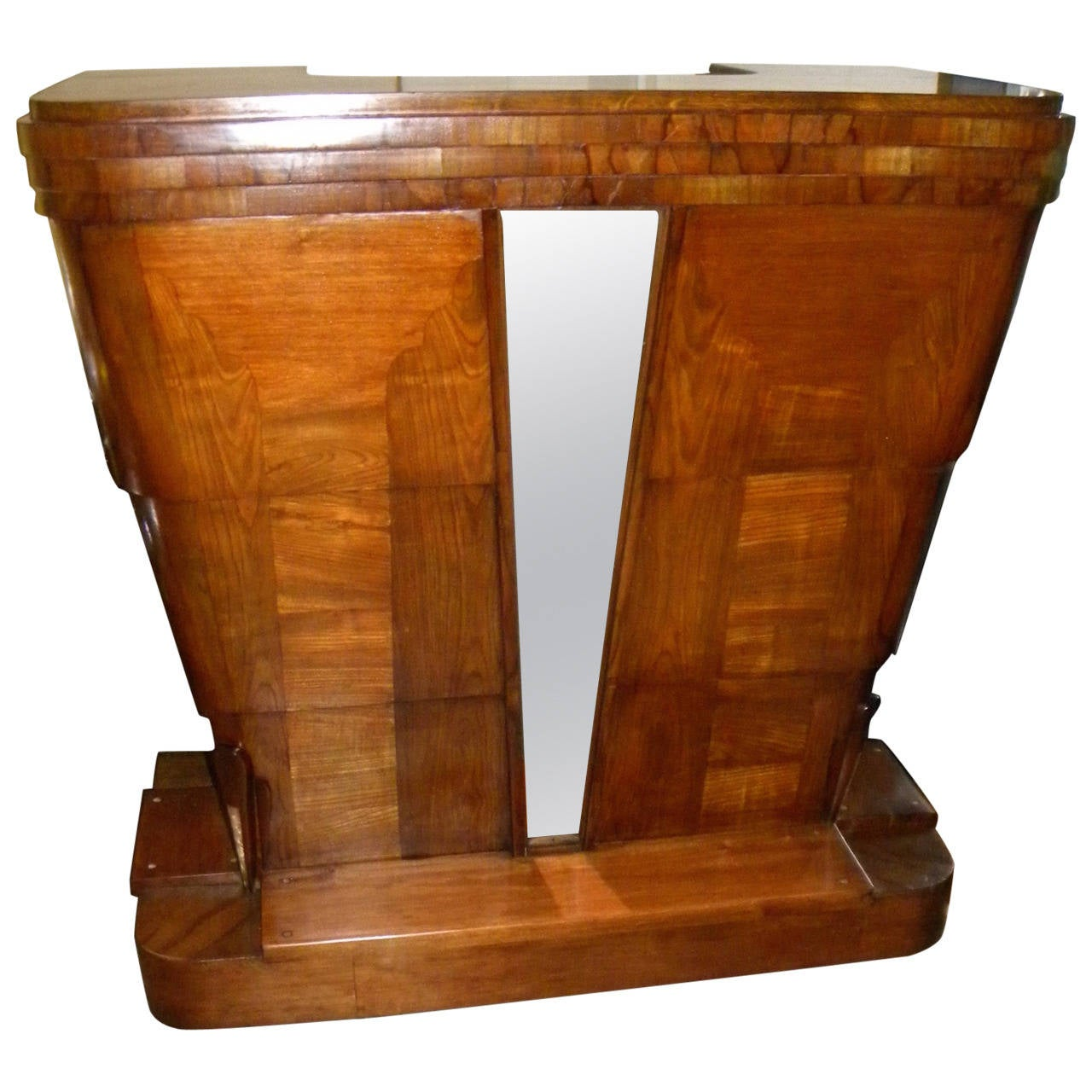 Stand Behind Art Deco Lectern Or Reception Desk For