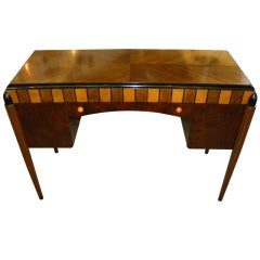 Very Unusual Petite French 1930s Desk Vanity Writing Table
