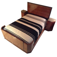 French Art Deco Modernist Bedroom Suite