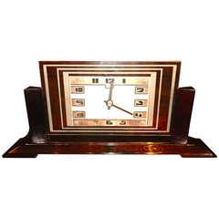 ATO Art Deco Clock French