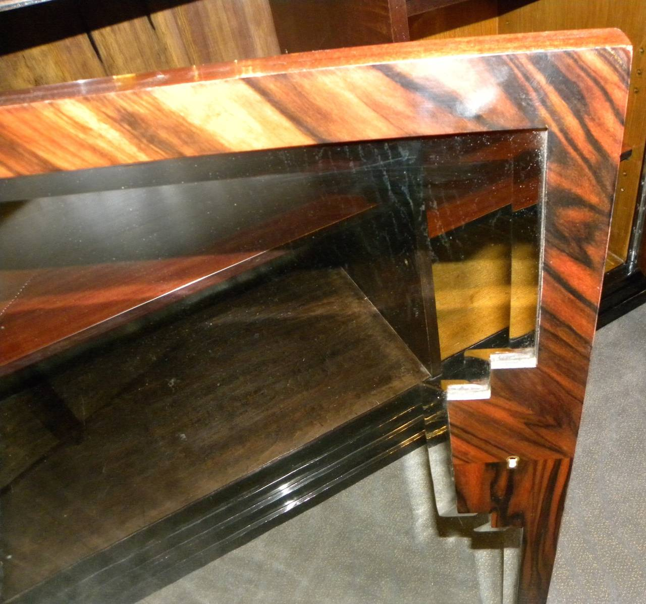 french art deco dining suite exotic wood 7 art deco dining 7