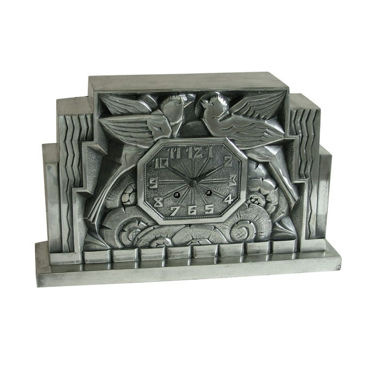 Fabulous french art deco clock by c terras at 1stdibs - Deco design tuin terras ...