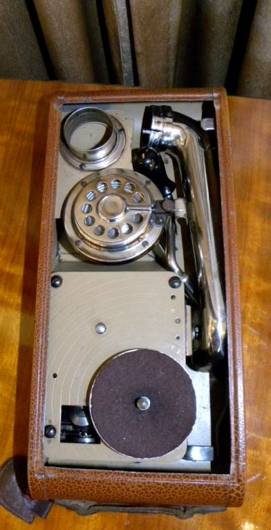 "Very rare Thorens ""Excelda"" Camera phone  Phonograph image 3"