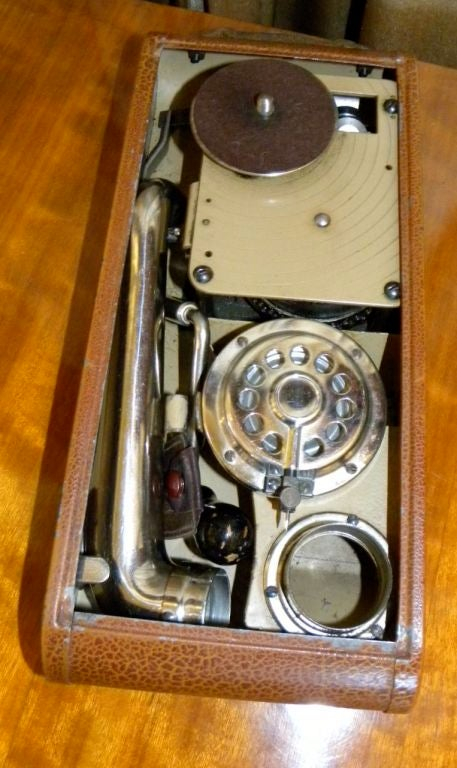 "Very rare Thorens ""Excelda"" Camera phone  Phonograph image 5"