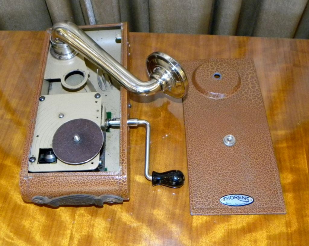 "Very rare Thorens ""Excelda"" Camera phone  Phonograph image 6"