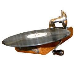 "Very rare Thorens ""Excelda"" Camera phone  Phonograph"