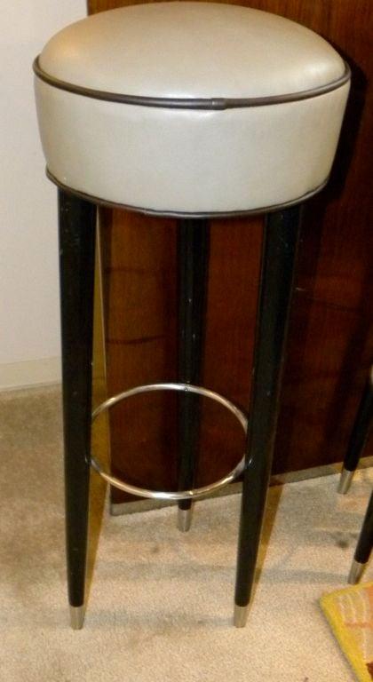 Original Art Deco Bar stools image 4 : 871412847646214 from 1stdibs.com size 420 x 768 jpeg 38kB