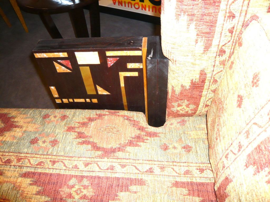 Very Unique Art Deco Fainting Couch Sofa At 1stdibs
