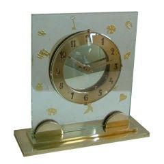 Fabulous High Quality Unique French Art Deco Clock