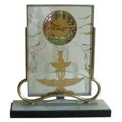Spectacular 8 Day Marti  French Clock mechanical movement!