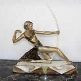 Diana the Huntress French statue thumbnail 6