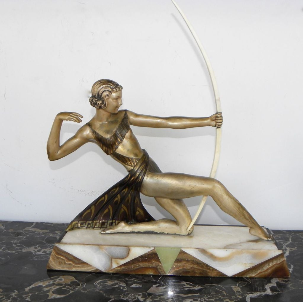 Diana the Huntress French statue 6