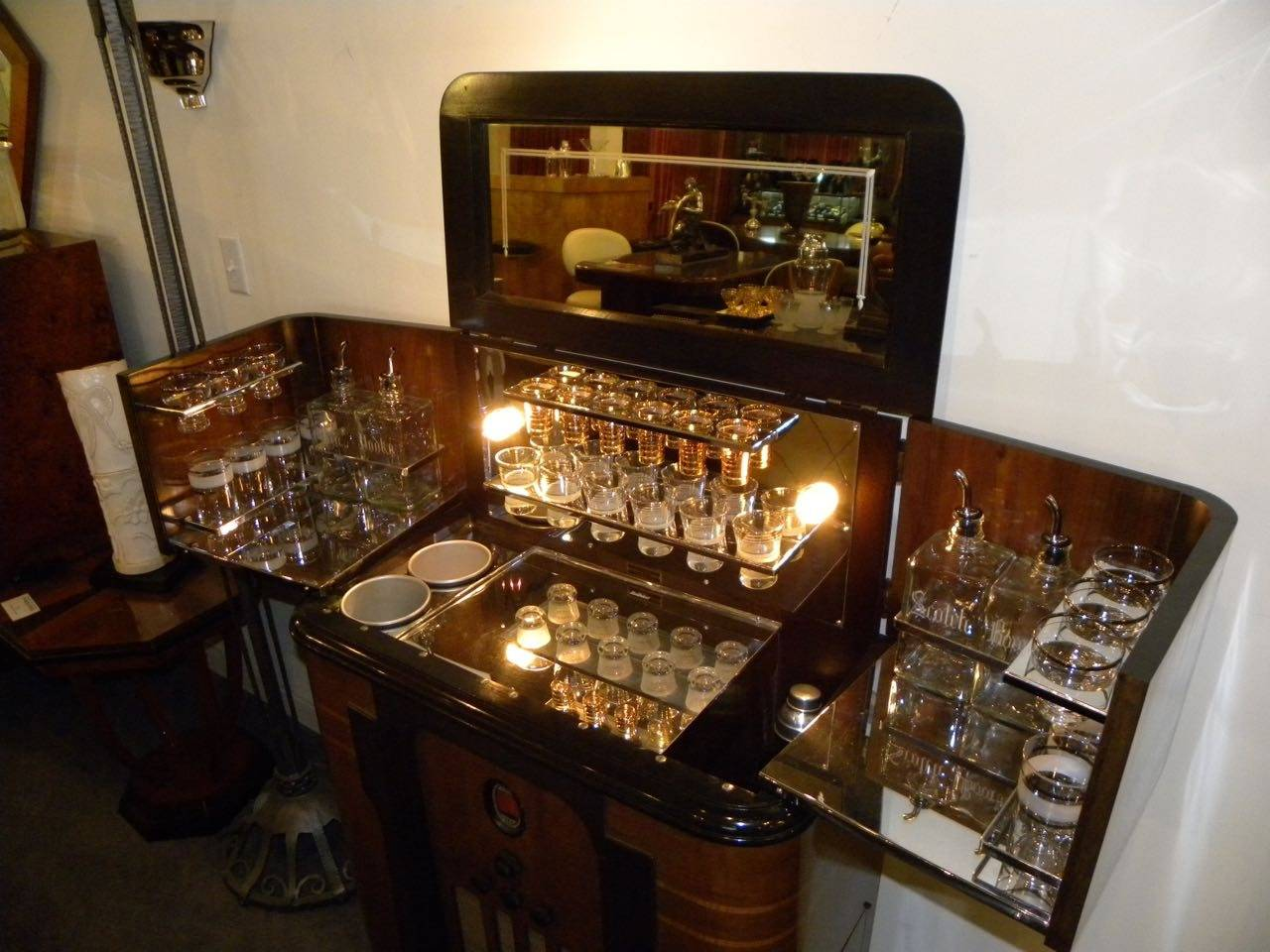 Art Deco Philco Radio Bar 1936 At 1stdibs