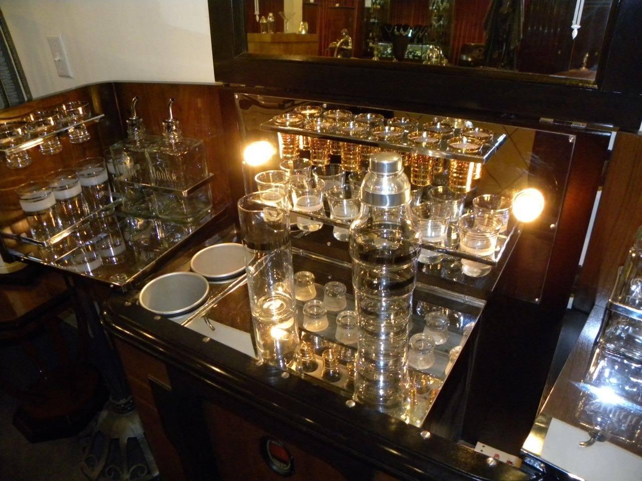 art deco philco radio bar 1936 at 1stdibs. Black Bedroom Furniture Sets. Home Design Ideas