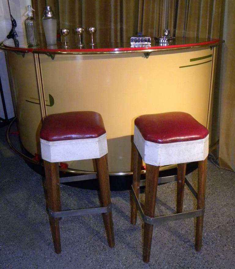Unusual And Original 1930s Art Deco Bar At 1stdibs