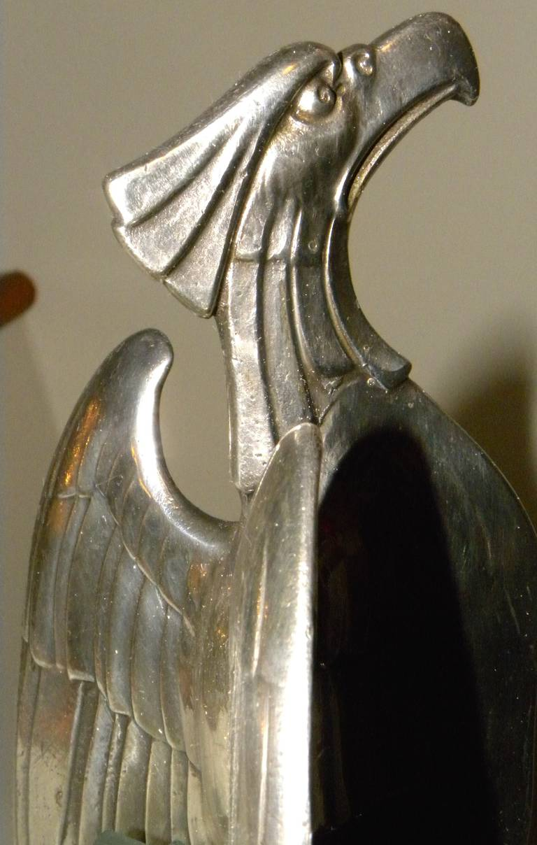 Art Nouveau Silver Eagle Centerpiece By Wmf At 1stdibs