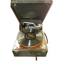 "Unique high quality original ""Columbia"" gramophone record-player"