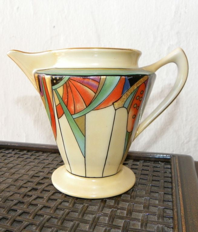 Extremely Rare Royal Rochester Modernistic Coffee Service 7