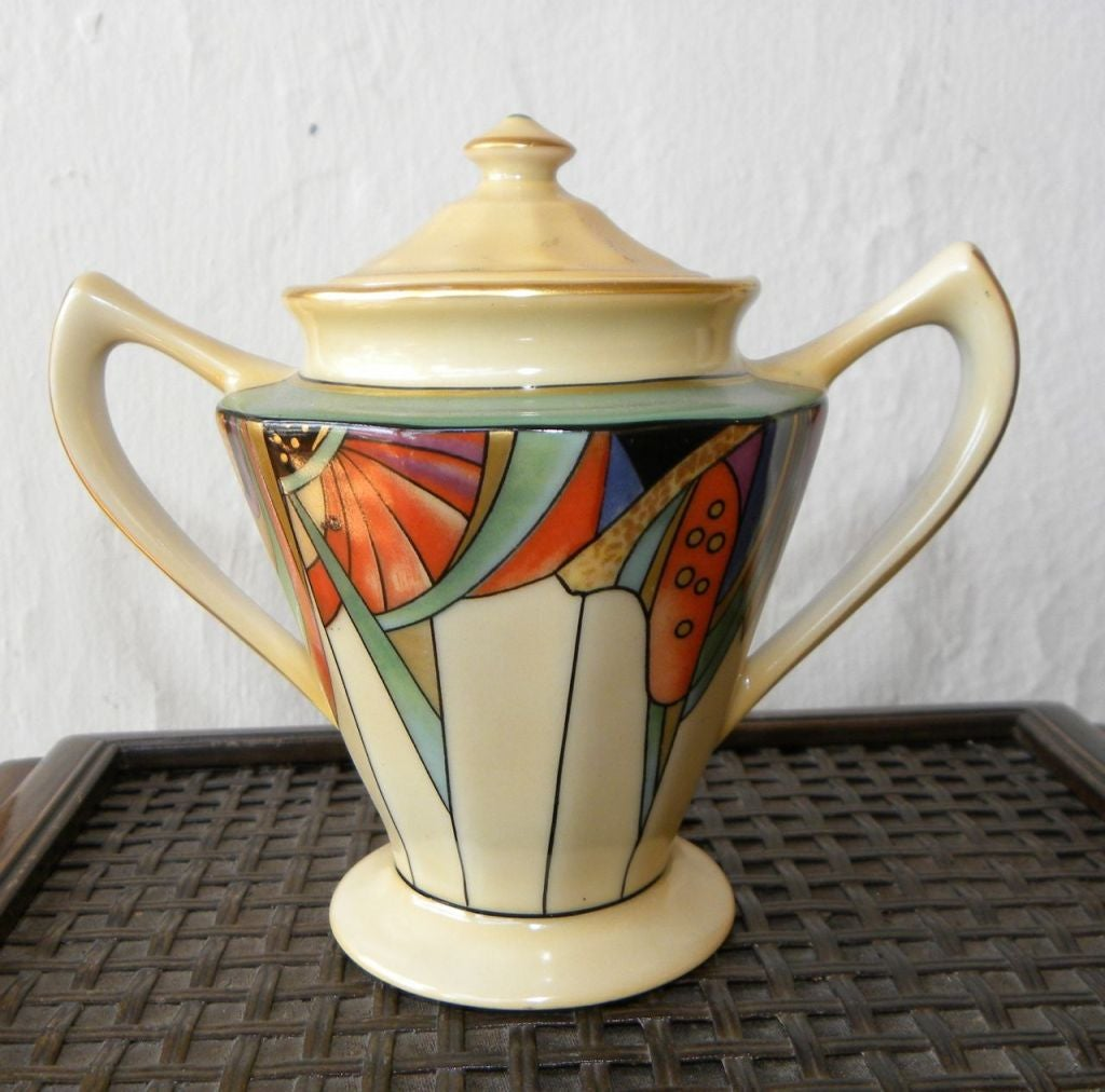 Extremely Rare Royal Rochester Modernistic Coffee Service 8