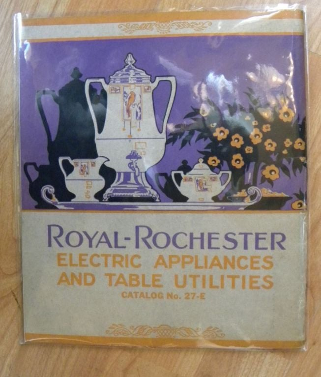 Extremely Rare Royal Rochester Modernistic Coffee Service 9