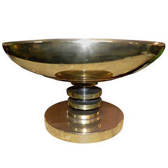 Modernist Streamline, Tabletop Torchiere