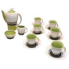 15 Piece Susie Cooper Art Deco Espresso Set