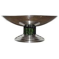 Jean Puiforcat Art Deco Serving Bowl, Coupe