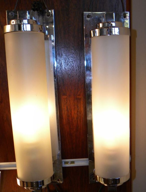 Nice Vanity Art Deco Lighting Sconces Streamline Moderne