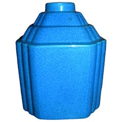Art Deco Modernist Vase Shape Boch Freres Catteau