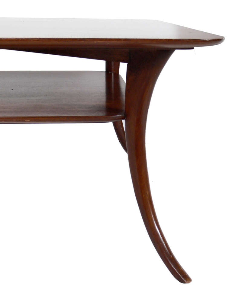 Elegant Coffee Table Designed By T H Robsjohn Gibbings For Sale At 1stdibs