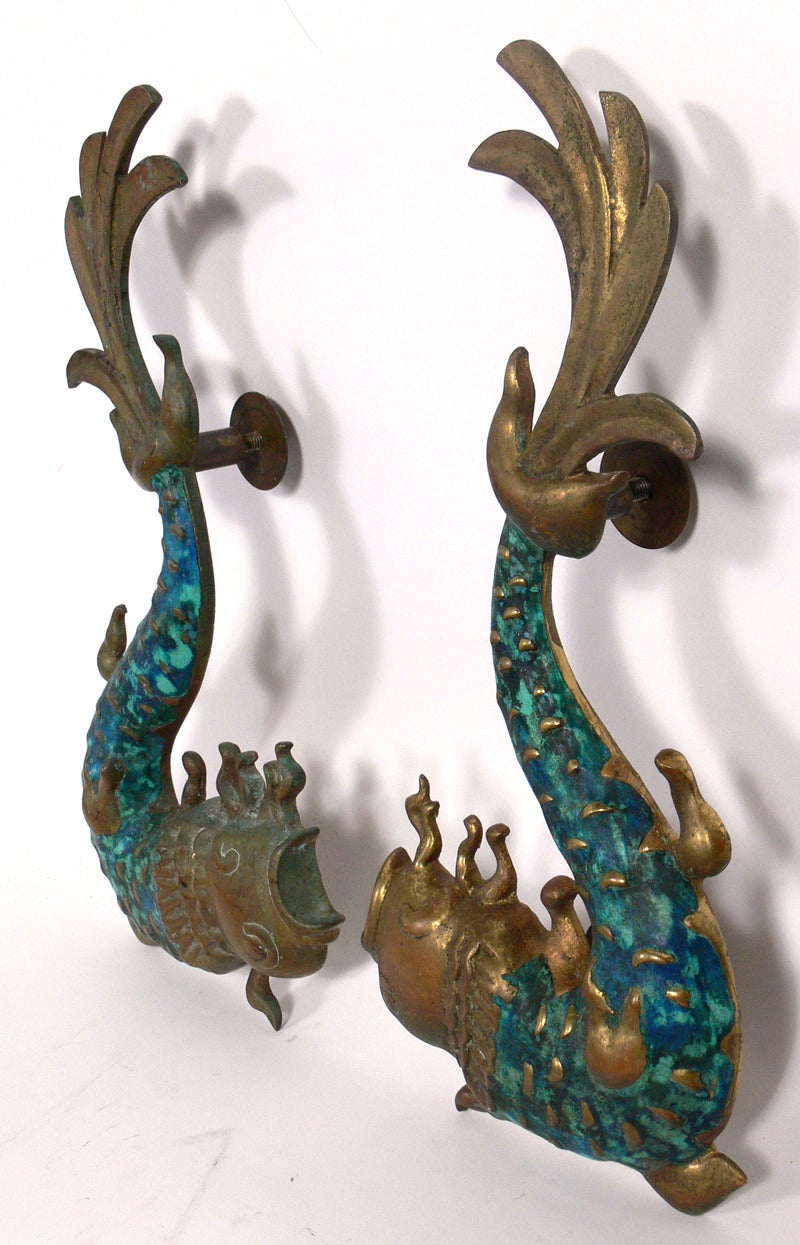 Large Scale Sculptural Door Handles By Pepe Mendoza At 1stdibs