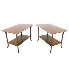 Pair of Modernist Side Tables by T.H. Robsjohn Gibbings