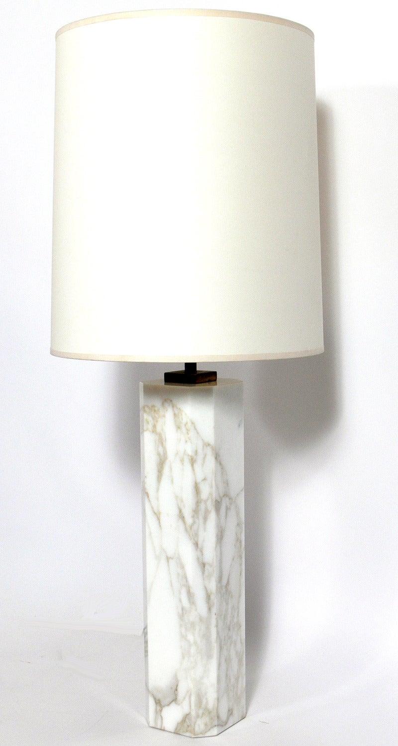 gorgeous marble lighting lamp vintage of lamps pair furniture listings